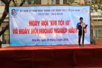 """NGÀY HỘI """"KHI TÔI 18"""" VÀ NGÀY HỘI HƯỚNG NGHIỆP NĂM 2016"""