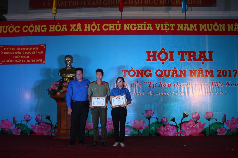 Các tiểu trại đạt thành tích cao trong tham gia các Hội thi.